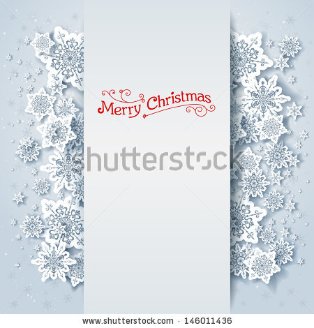 Stock Vector Winter Holiday Background With Space For Text 146011436